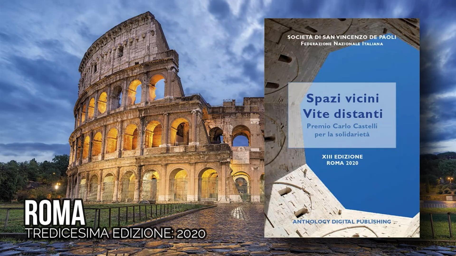 Premio Carlo Castelli per la solidarietà, tredicesima edizione, Roma, Società di San Vincenzo De Paoli