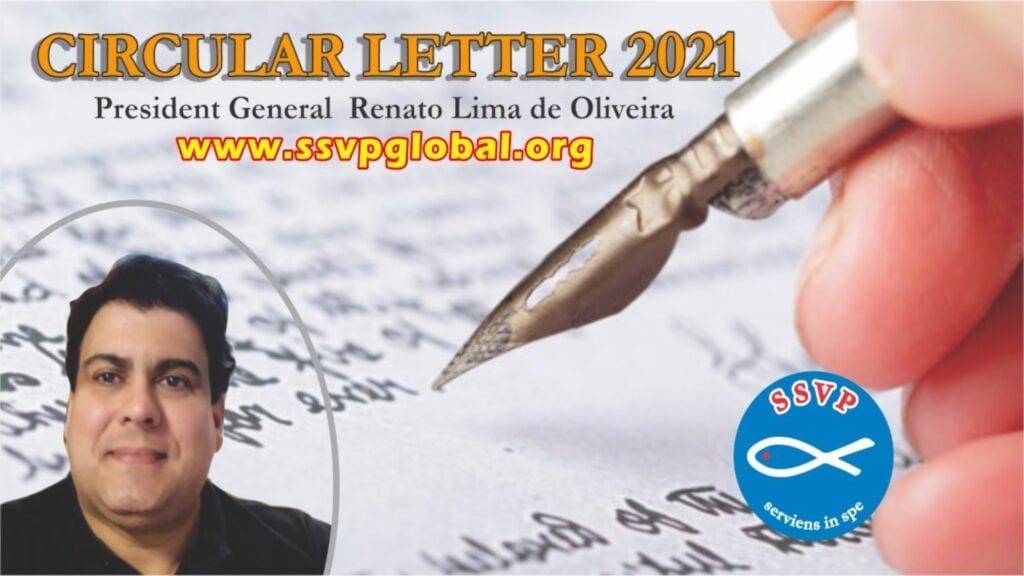 Lettera Circolare del Presidente Generale Renato Lima de Oliveira, Società di San Vincenzo De Paoli