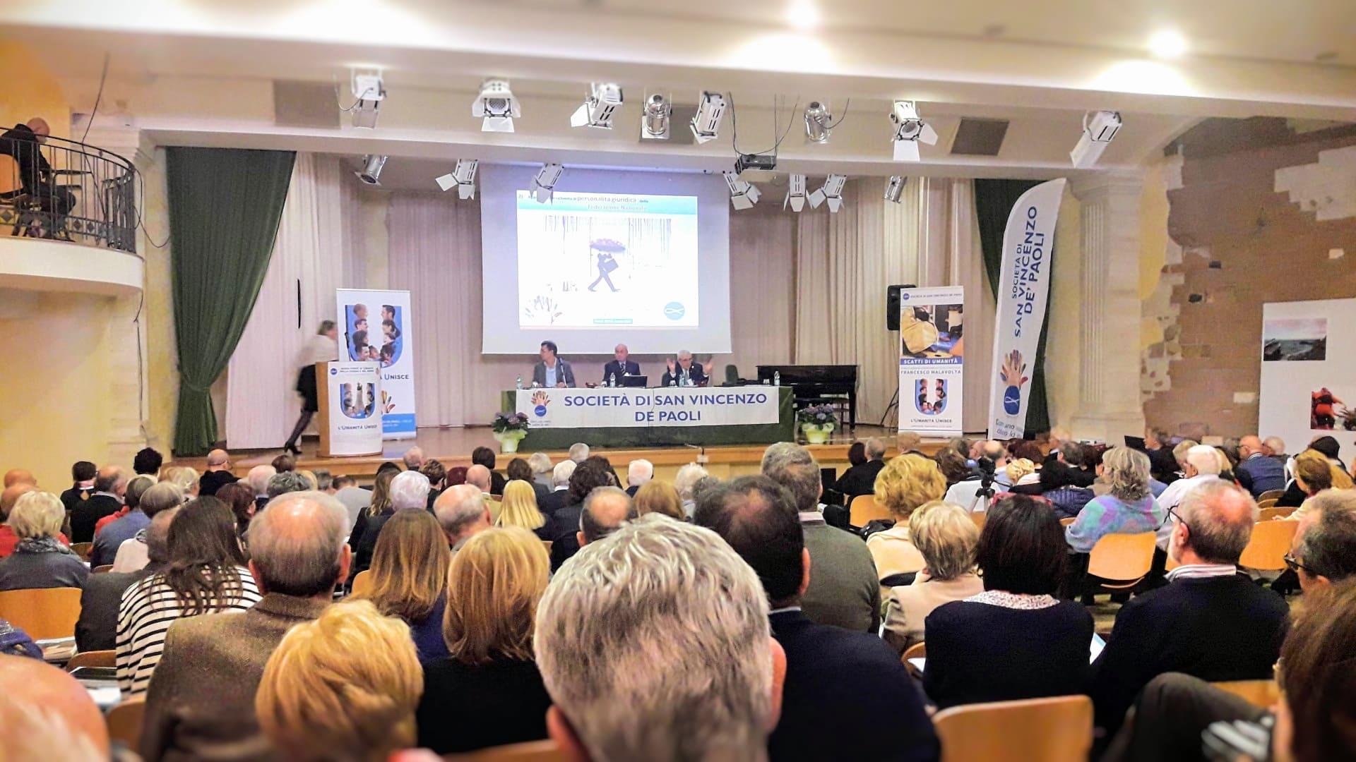 Assemblea Federazione Nazionale Società di San Vincenzo De Paoli