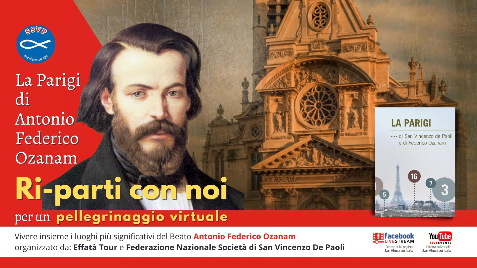 Pellegrinaggio virtuale: la Parigi di Antonio Federico Ozanam